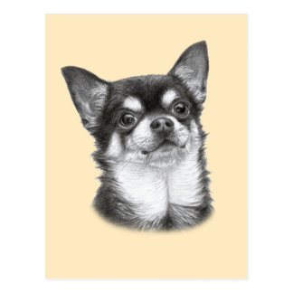 Chihuahua Painting Postcards