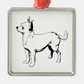 Chihuahua Pet Dog Christmas Ornament