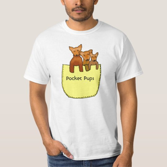 chihuahua,Pocket Pups T-Shirt