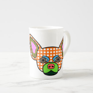 Chihuahua Pop Art Tea Cup