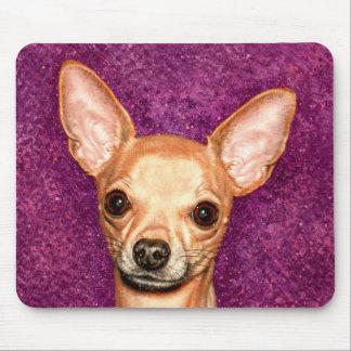 Chihuahua Portrait Mouse Mat