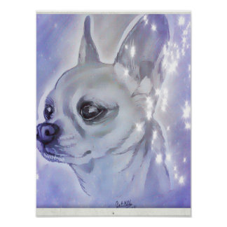 Chihuahua Poster by Carol Zeock