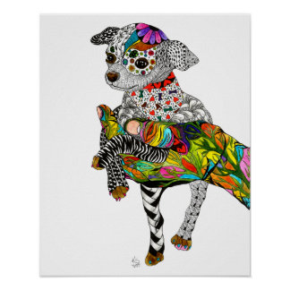Chihuahua Poster (You can Customize)