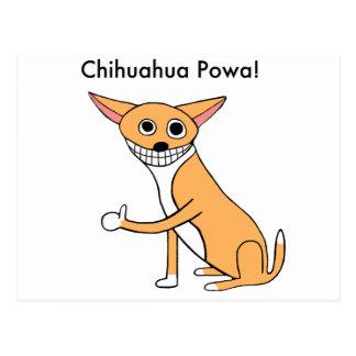 Chihuahua Powa! Postcard