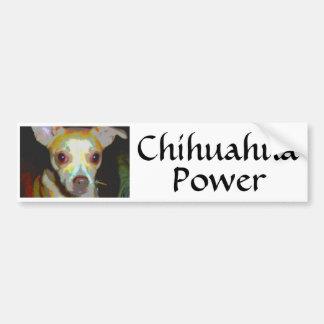 Chihuahua  Power Bumper Sticker