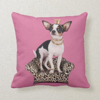 Chihuahua Princess Cushion