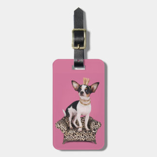 Chihuahua Princess Luggage Tag
