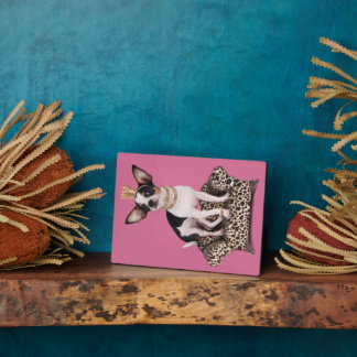 Chihuahua Princess Plaque