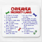 CHIHUAHUA Property Laws 2 Mouse Mat