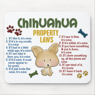 Chihuahua Property Laws 4 Mouse Mat