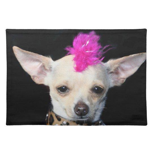 Chihuahua punk dog American Mojo placemat
