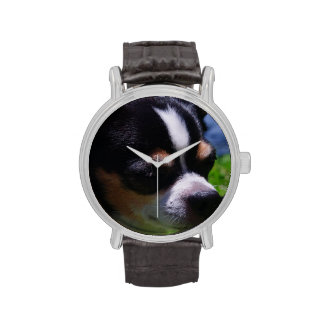 Chihuahua Pup Wrist Watches