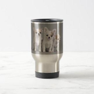 Chihuahua puppies travel mug