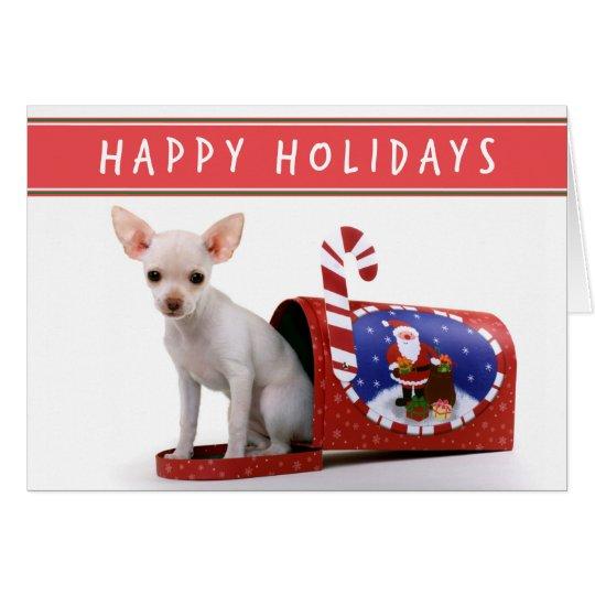 Chihuahua Puppy Christmas card