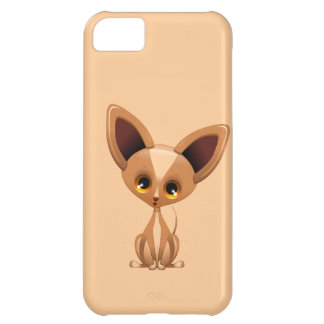 Chihuahua Puppy Dog Cartoon iPhone 5C Case