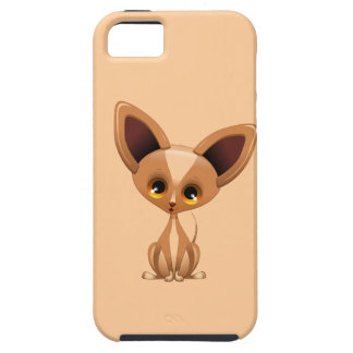 Chihuahua Puppy Dog Cartoon iPhone 5 Cases