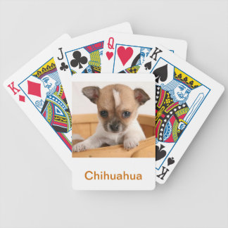 Chihuahua Puppy Dog Playing Cards