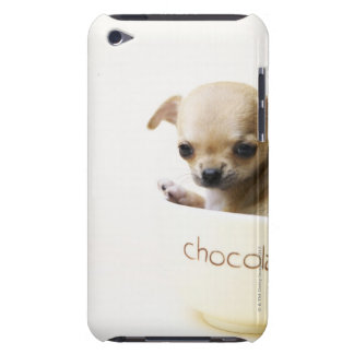 Chihuahua puppy in bowl (cropped) iPod touch covers