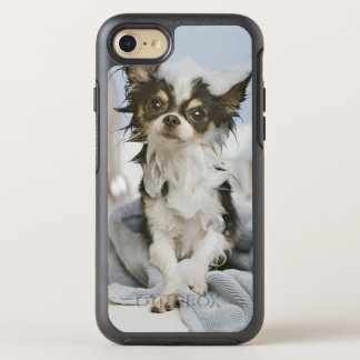 Chihuahua Puppy Wrapped In A Towel OtterBox Symmetry iPhone 7 Case