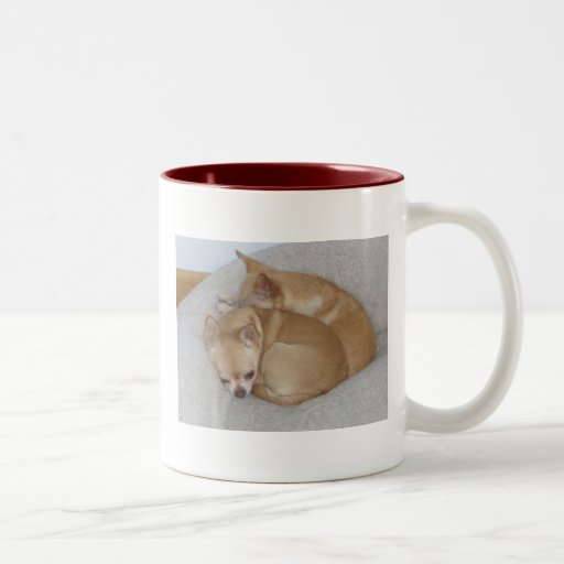 Chihuahua pups coffee mug