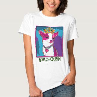 Chihuahua Queen Tee Shirts