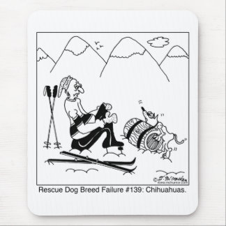 Chihuahua Rescue Dogs Mouse Mat
