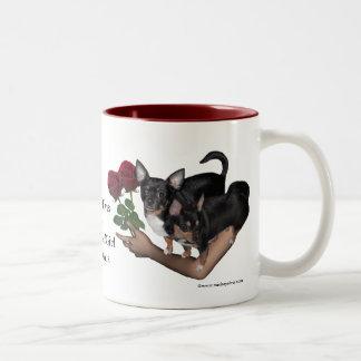 Chihuahua Roses Mug