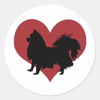 Chihuahua Round Sticker