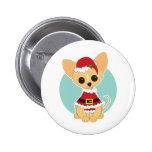 Chihuahua Santa Badges