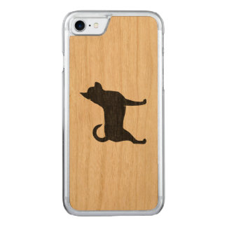 Chihuahua Silhouette Carved iPhone 7 Case