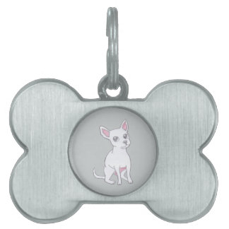 Chihuahua..Small dog with LARGE attitude Pet Name Tag