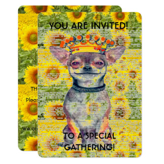 CHIHUAHUA SPECIAL EVENT INVITATION -