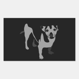 Chihuahua Rectangular Sticker