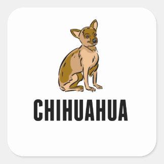 Chihuahua Square Stickers