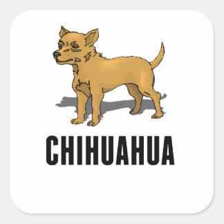 Chihuahua Square Sticker