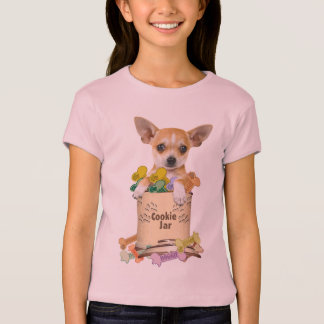 Chihuahua Takes Over The Cookie Jar T-Shirt