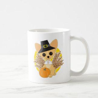 Chihuahua Thanksgiving Coffee Mug