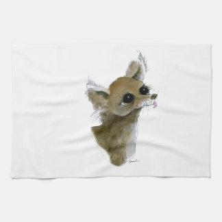 Chihuahua, tony fernandes tea towel