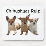 Chihuahua Trio Mousepad
