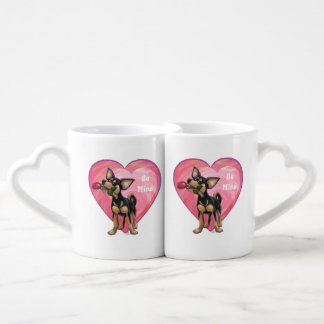 Chihuahua Valentine's Day Lovers Mug Set