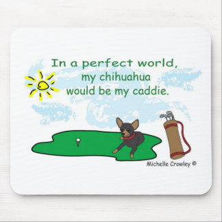 ChihuahuaBlkTan Mouse Pad