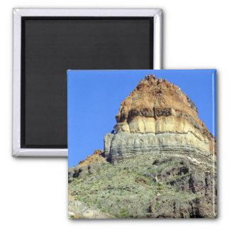 Chihuahuan Desert scene 07 Square Magnet