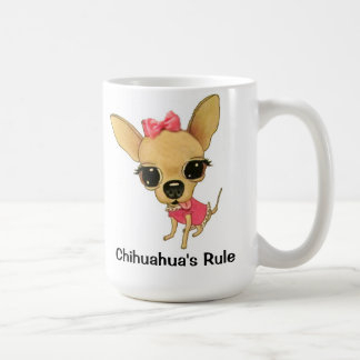 Chihuahua's Rule ChiYumYum Coffee Mug