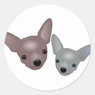 Chihuahuas Sticker