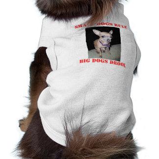 Chihuhahua Looking At You Sleeveless Dog Shirt