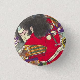 Chikanobu Samurai 3:5 3 Cm Round Badge