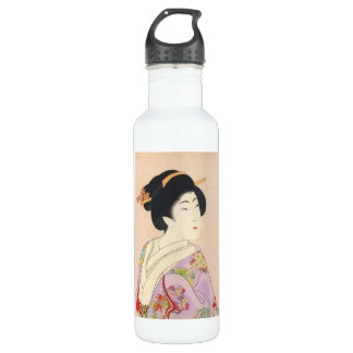 Chikanobu Yoshu True Beauties Unknown Title 710 Ml Water Bottle