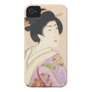 Chikanobu Yoshu True Beauties Unknown Title Case-Mate iPhone 4 Case