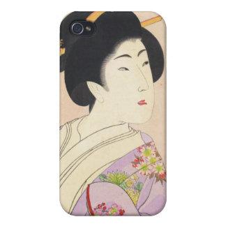 Chikanobu Yoshu True Beauties Unknown Title iPhone 4 Case
