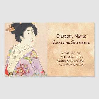 Chikanobu Yoshu True Beauties Unknown Title Sticker